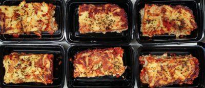 3 cheese vegetarian lasagna