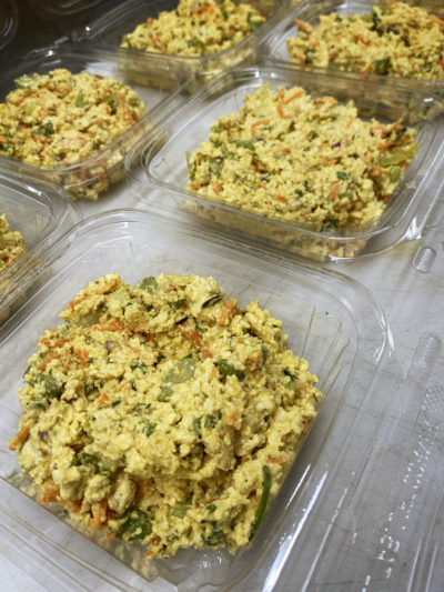 Tofu Salad vegan